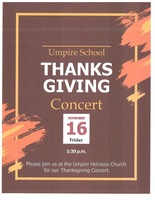 Umpire Thanksgiving Concert