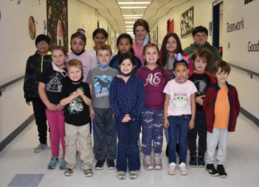 W.E.S. December Star Students