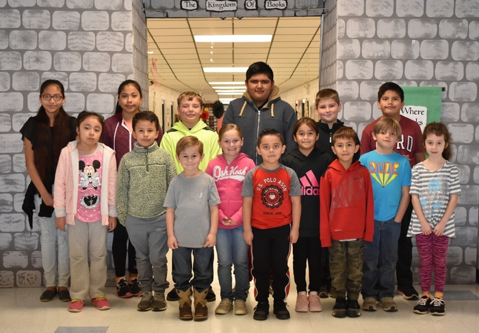 Wickes Elementary October Star Students