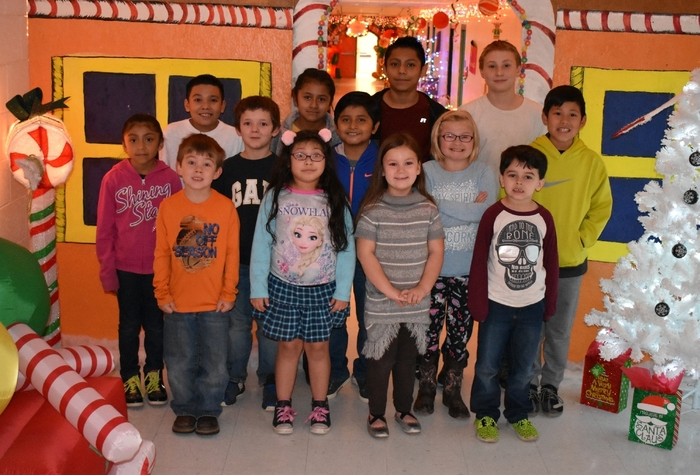 Wickes Elementary November Star Students
