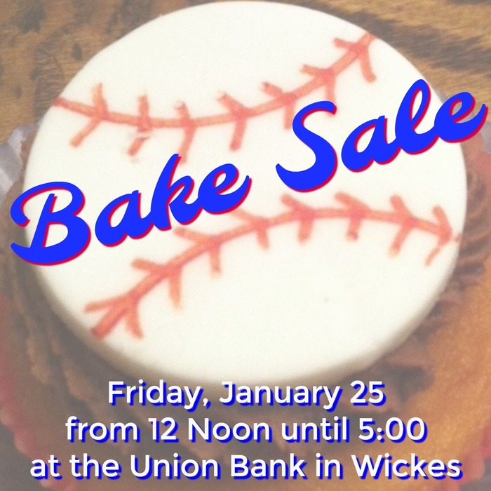 Baseball Bake Sale