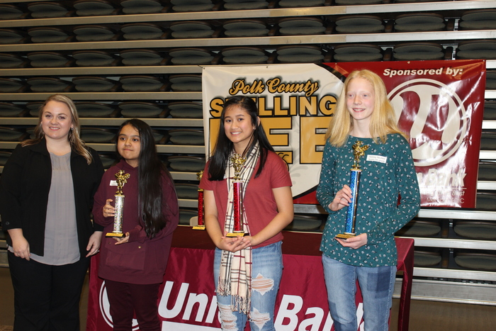 Polk County Spelling Bee Winners 2019