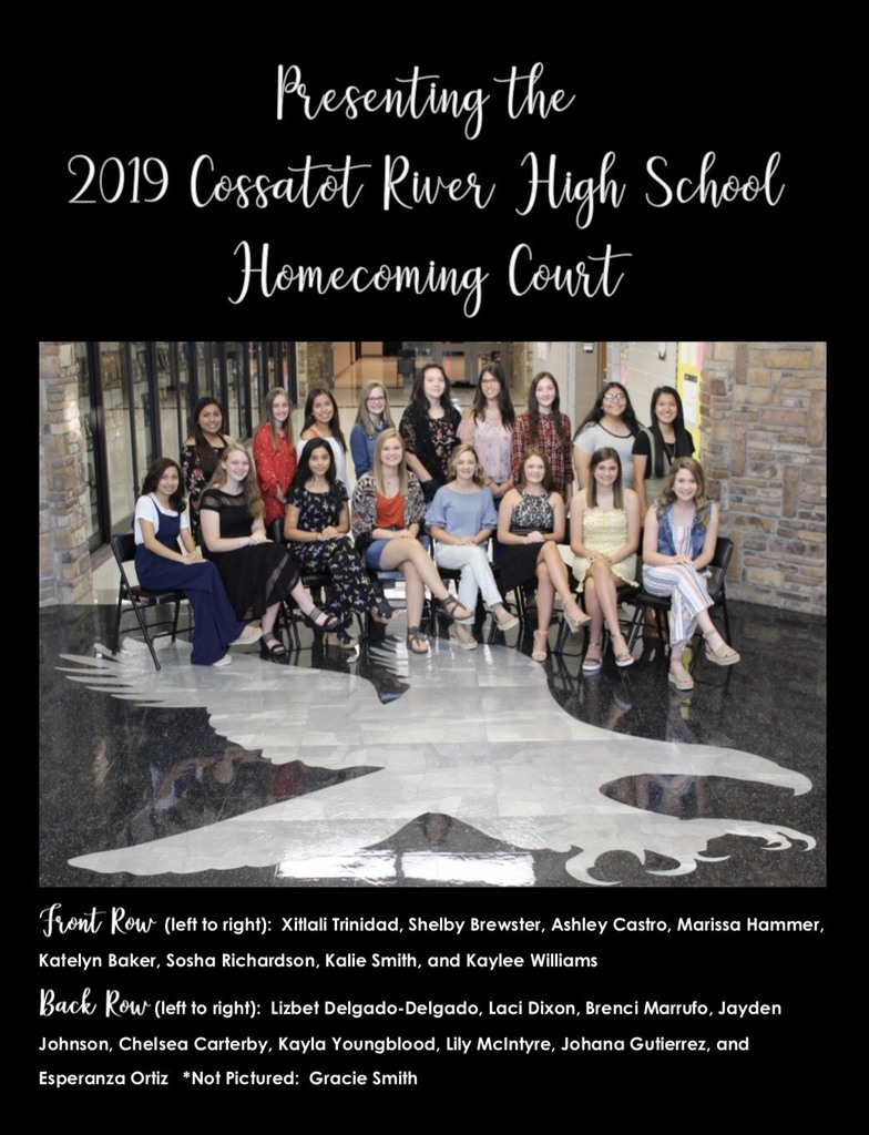 Homecoming Court Oct 2019