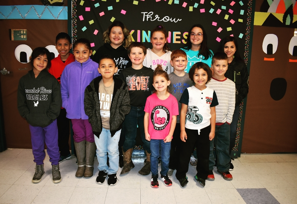 Wickes Elementary Star Students for October