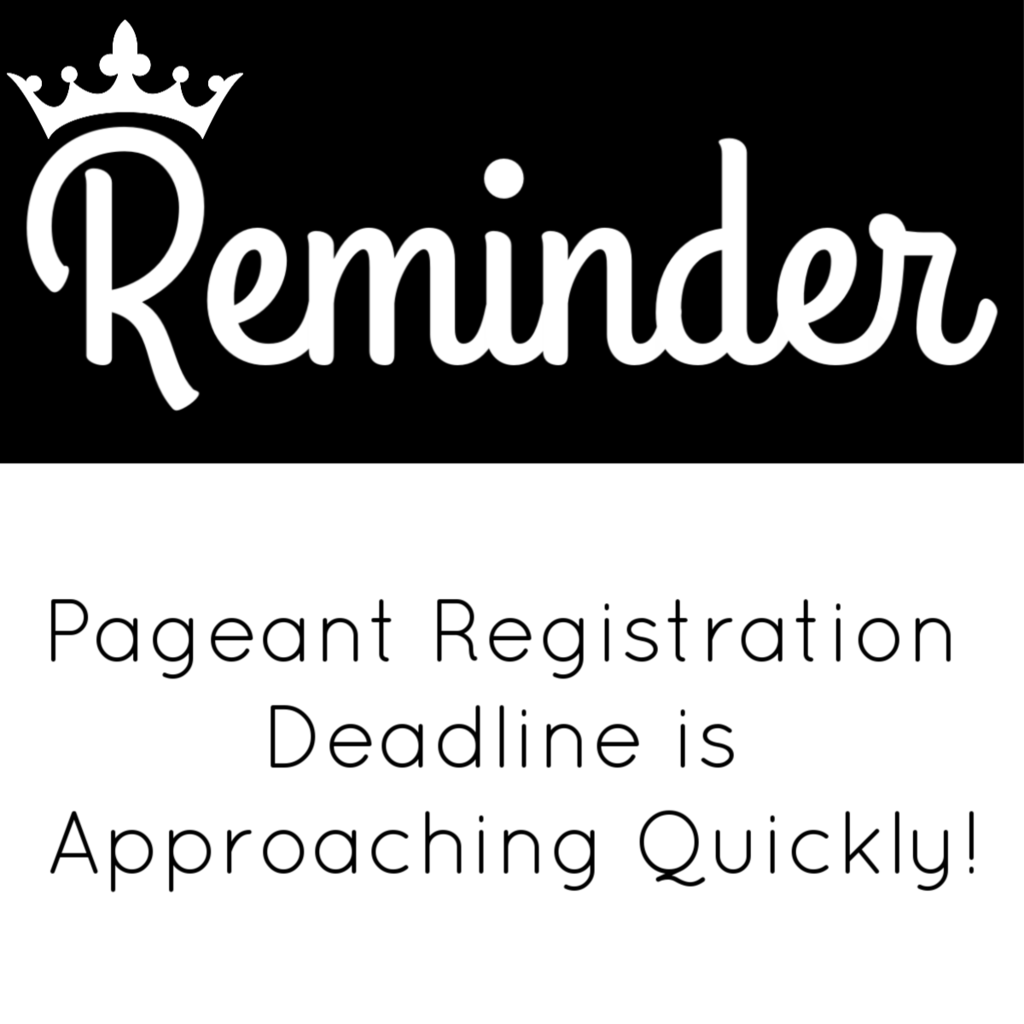 Pageant Registration