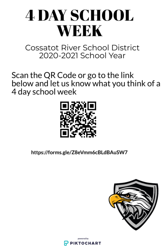 Cossatot River School District 4 Day School Week